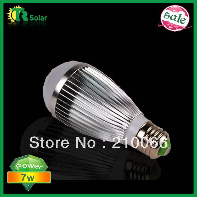 led bulbs E27 7w High Power LED Bulb bubble Lamp, LED Energy Saving Light ball Bulb 8pcs/lot Free Shipping New type