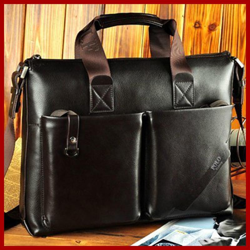 Брендовые мужские сумки из натуральной кожи