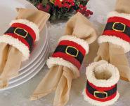 Гаджет  4pcs /lot Christmas Decor Napkin Ring Holders Table Decor Napkin Holder for Christmas Hotel, Christmas table decoration None Дом и Сад