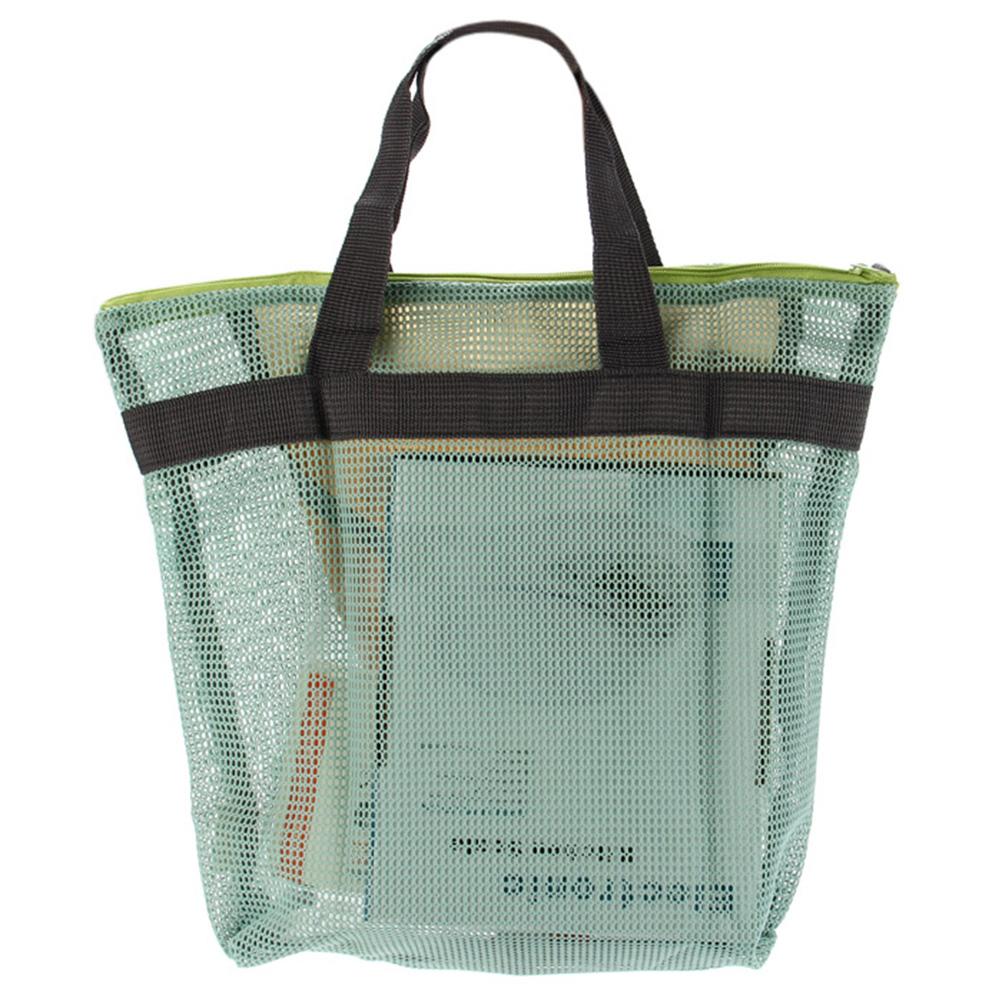 Practical Net Handbag Cosmetic Bath Bag Wash Bathing Supplies Storage Bag Makeup Cosmetic Bags PVC Pouchfor Travel Shopping(China (Mainland))