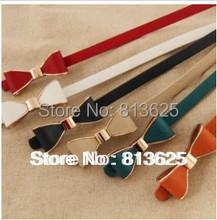 Lady s Slender waist belt han phnom penh bowknot slender waist belt female new belt women