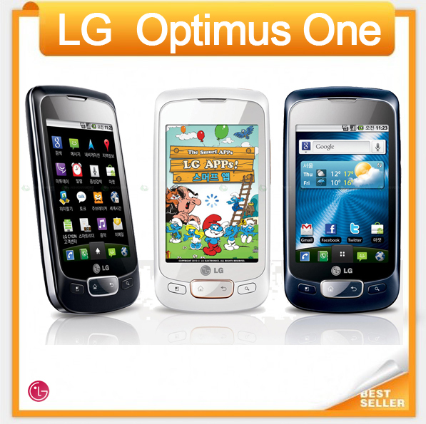 Cheap original mobile phone LG Optimus One P500 WIFI GPS JAVA Android OS Unlocked Mobile Phone(China (Mainland))