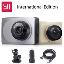 "[International Edition]Original Xiaomi YI Smart Car DVR 1080P 60fps Xiaoyi Dash Camera 2.7"" 165 Degree Angle ADAS WiFi Dashcam(China (Mainland))"
