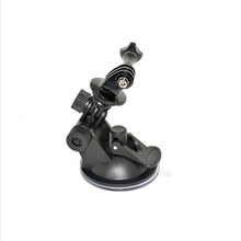 Suction Cup Mount with screw action camera accessories fit for GoPro Xiaomi Yi SJ4CAM Sony AEE