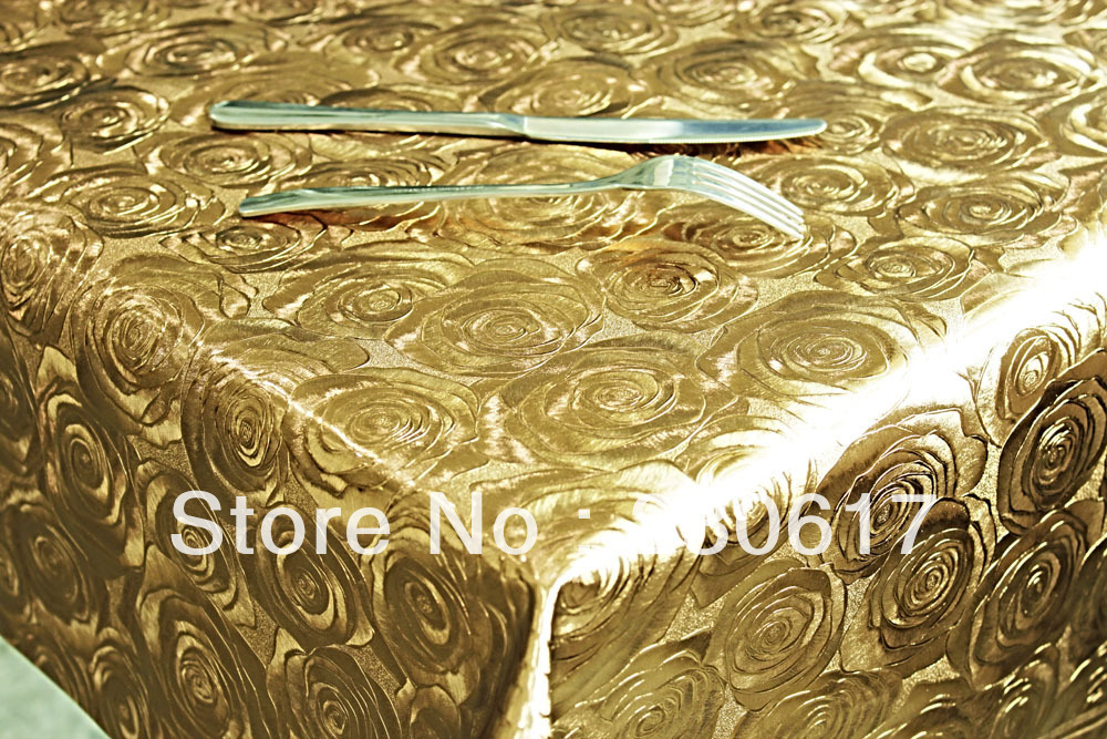 TC192-A015 Free Shipping Double-sided Copper Colour Soft Glass Waterproof Oil Hotel Table Cloth Pvc Tablecover(China (Mainland))