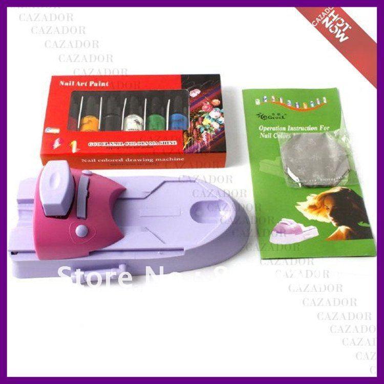 Free Shipping Dropshipping DIY Nail Art Colors Polish Design Stamping Printing Machine M23(China (Mainland))