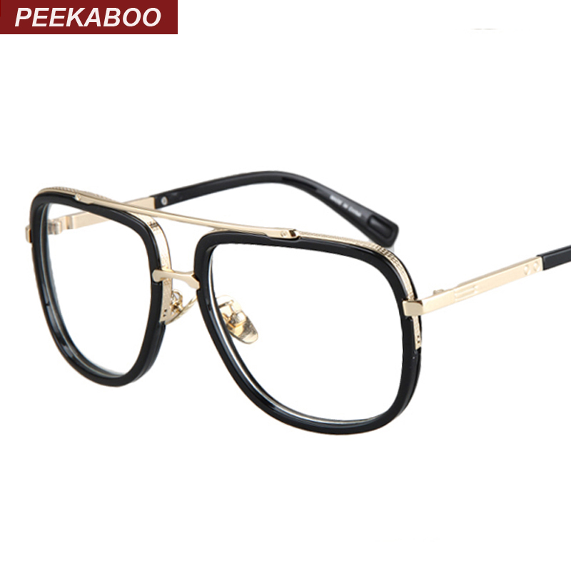 Glasses Frames Male : Aliexpress.com : Buy Gold metal eye glasses frames for men ...