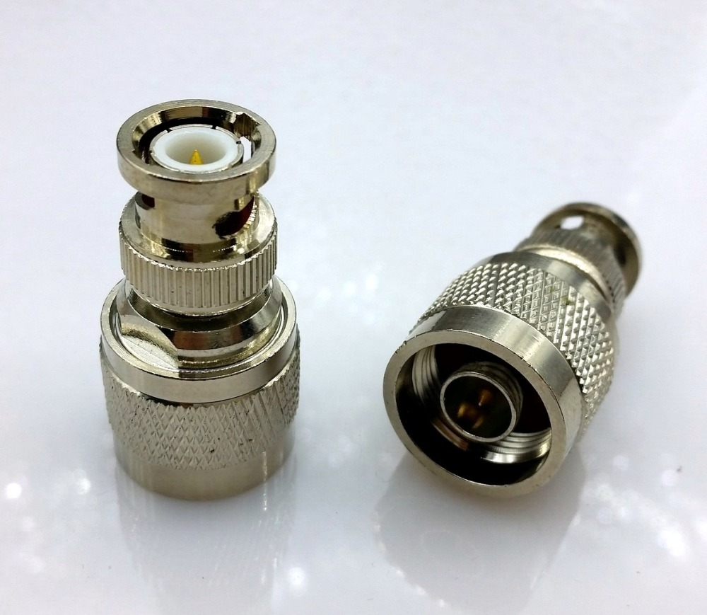 BNC to N type adapter BNC male plug swtich N type male RF coax connector convertor(China (Mainland))