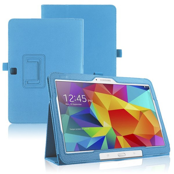 FREE SHIPPING 1Pcs Flio Leather Stand Case Cover for Samsung Galaxy Tab 4 10 1 SM