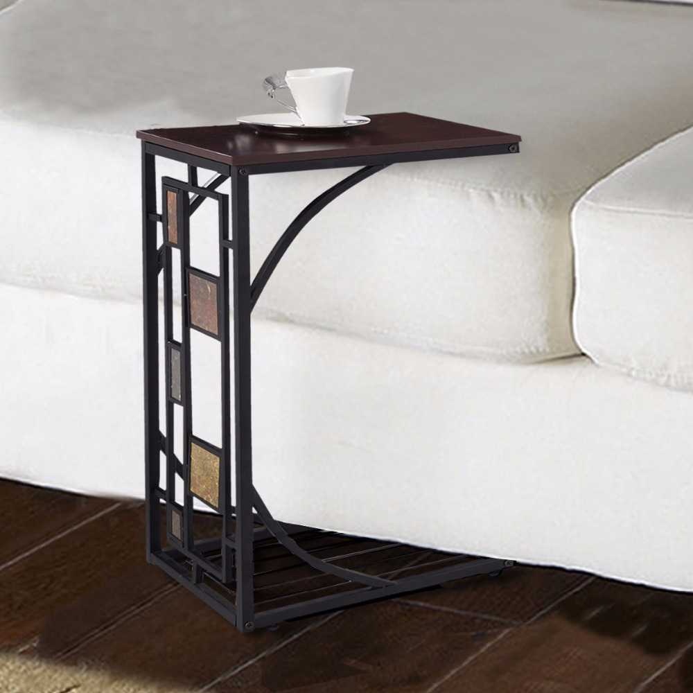 Coffee Tray Side Sofa Table Ottoman Couch Room Console Stand End TV Lap Snack Free Shipping HW49716(China (Mainland))