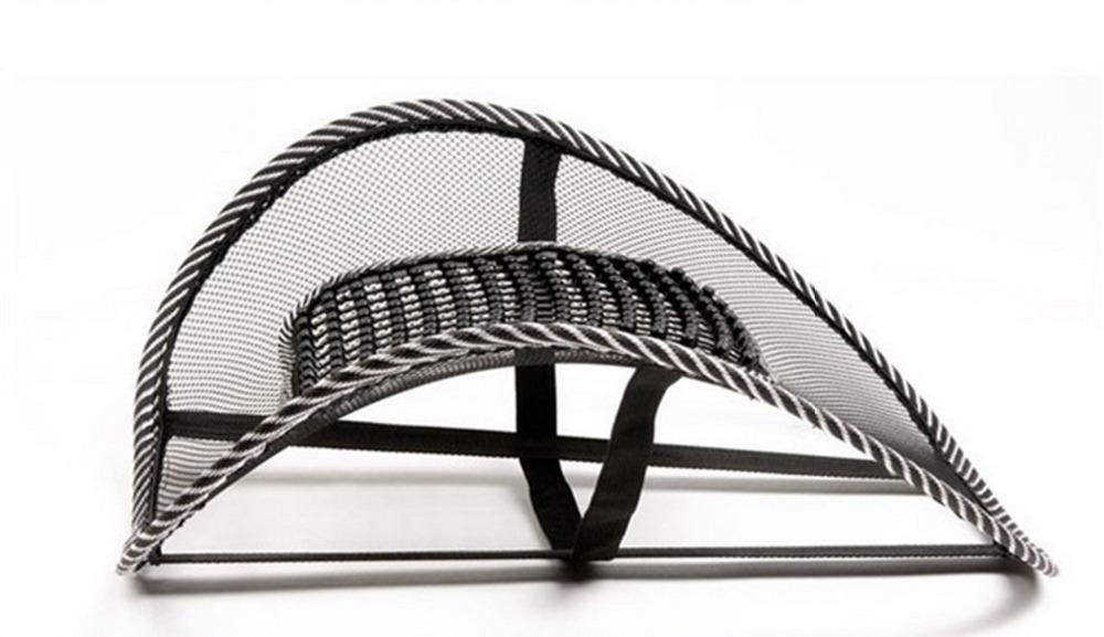 Free Shipping 2015 New Office Chair Car Seat Cover Sofa Cool Massage Cushion Lumbar Back Brace