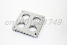 3D printer accessories Ultimaker four hole aluminum sheet mounting bracket extruder hot end of the PEEK