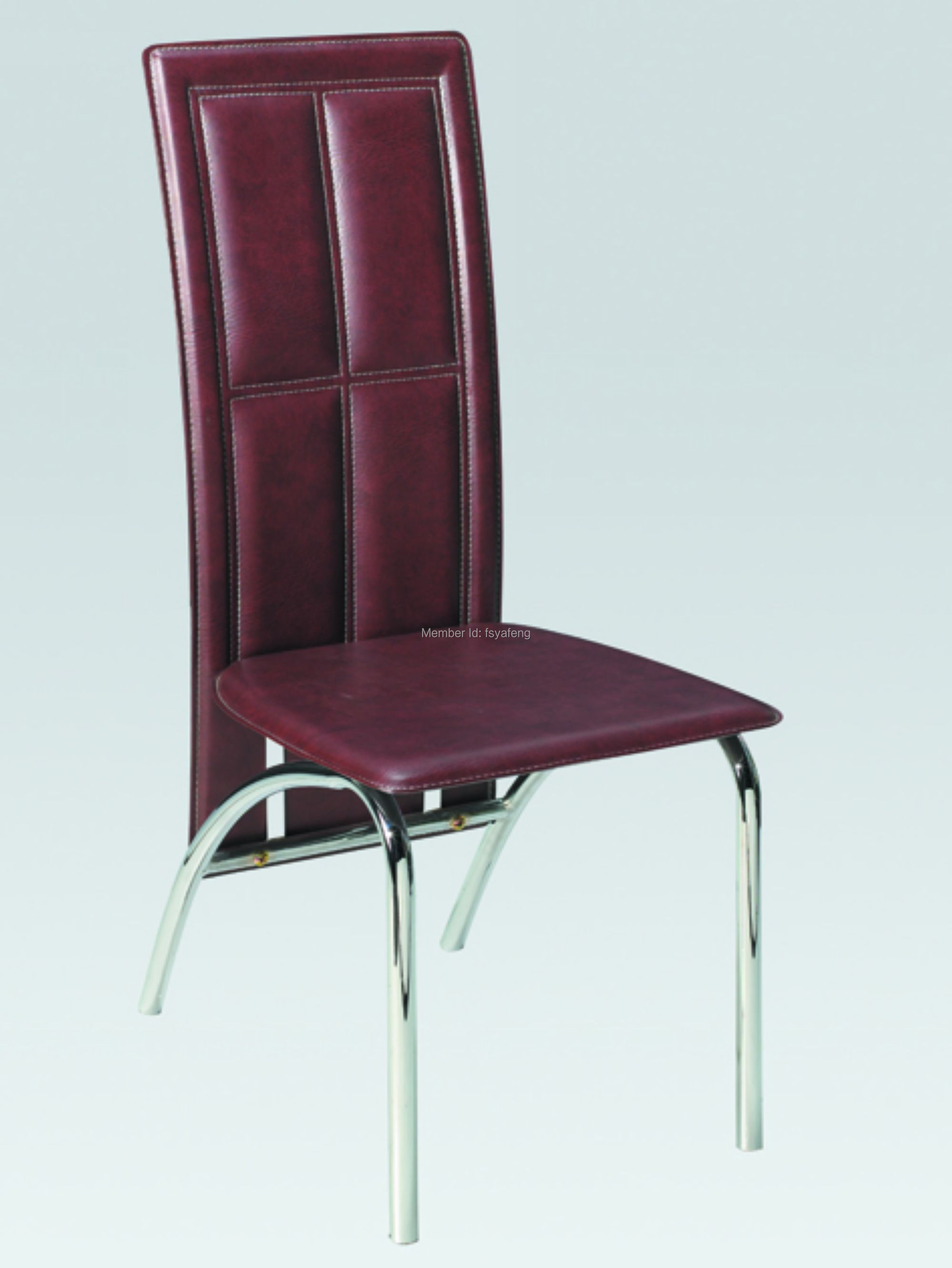 Dining chair leather chair metal chair living room for Metal living room chairs