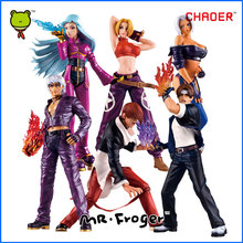 Mr.Froger K.O.F The King Of The Fighters Action Figures chibi Models Classic Toy collection Game Related KOF Fighting Brinquedos