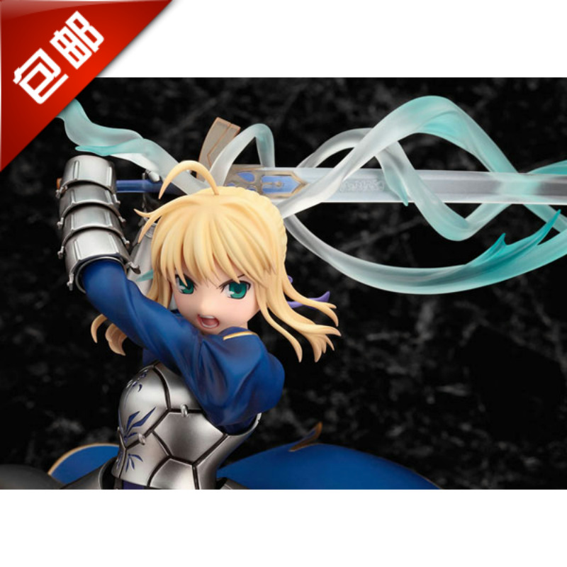 Fate/stay night the fate of night blue Seba saber promised victory sword hand do model decoration(China (Mainland))
