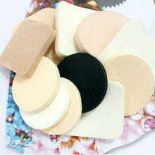 1Set/12PCS Women Beauty Foundation Makeup Cosmetic Facial Face Soft Sponge Powder Puff Beauty Tool Free Shipping