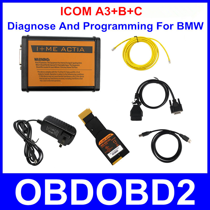 Full Package ICOM A3 Auto Interface With Program Function ICOM A3+B+C Diagnostic Tool Without HDD Software Stable Hardware V1.37(China (Mainland))