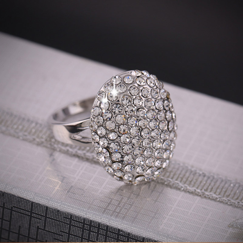 Fashion High Quality Crystal Jewelry The Twilight Breaking Dawn Bella Wedding Rings For Women In