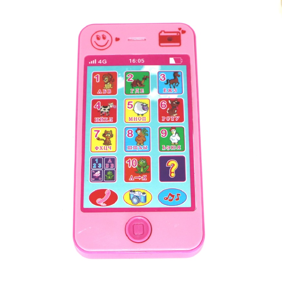 Children's toys baby educational simulationp kids music mobile phone the latest version of russian language Baby phone(China (Mainland))