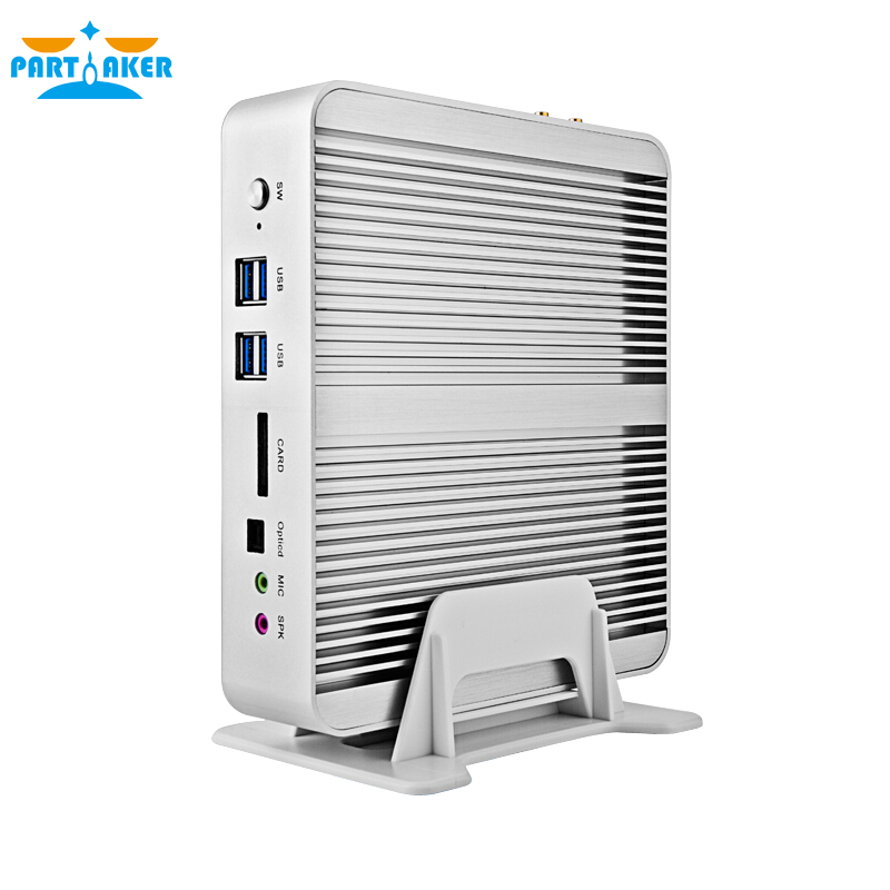 Fanless Mini Industrial Linux Micro PC Mini Computer with Intel Core i5 4258U 2.4Ghz 8G RAM SSD/ HDD(China (Mainland))