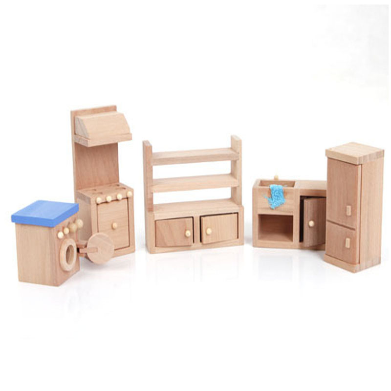 2016 Hot Sale Bcluga Pretend Play Of Kitchen Wooden Furniture Play House Toys Of Cusine Gift