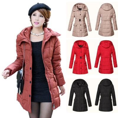 Fashion Slim Thick Hooded Duck Down Jacket For WomenWinter Coats Womem 2013Plus Size Womenu0026#39;s ...
