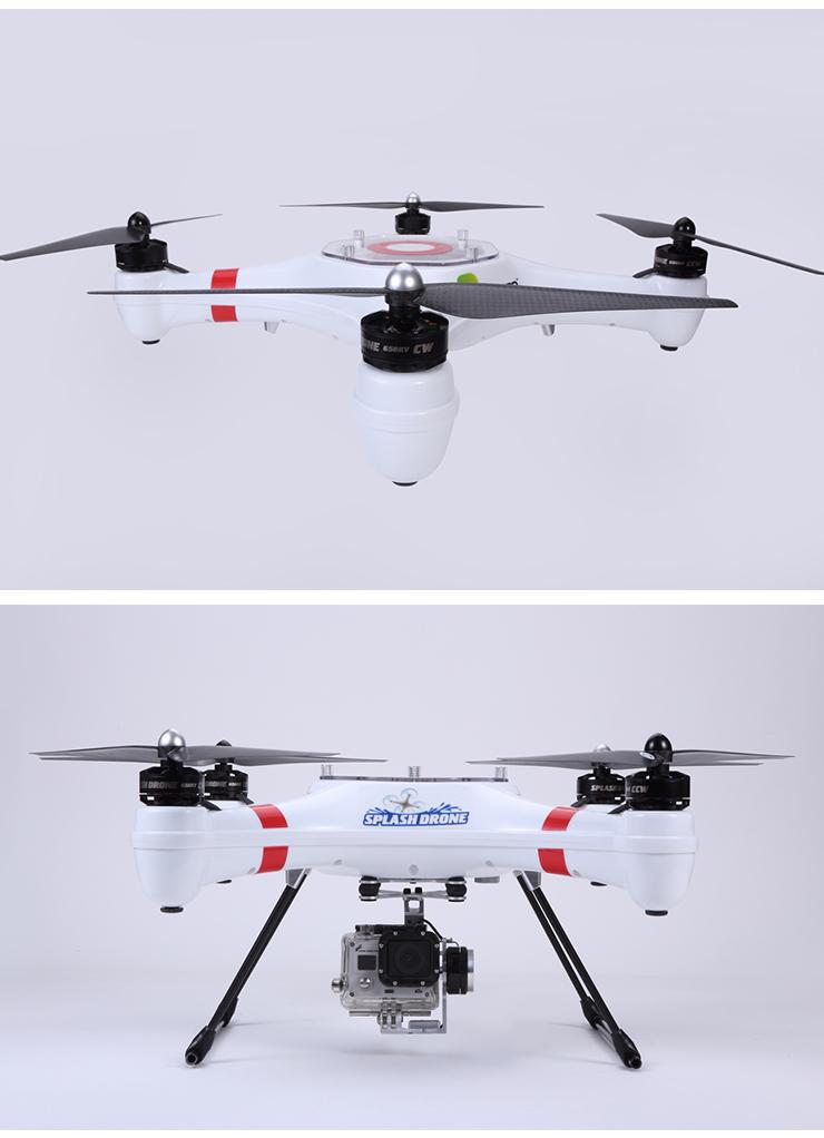 Splash Drone Mariner II a Waterproof Drone RC Quadcopter RTF 2.4GHz PRO Version
