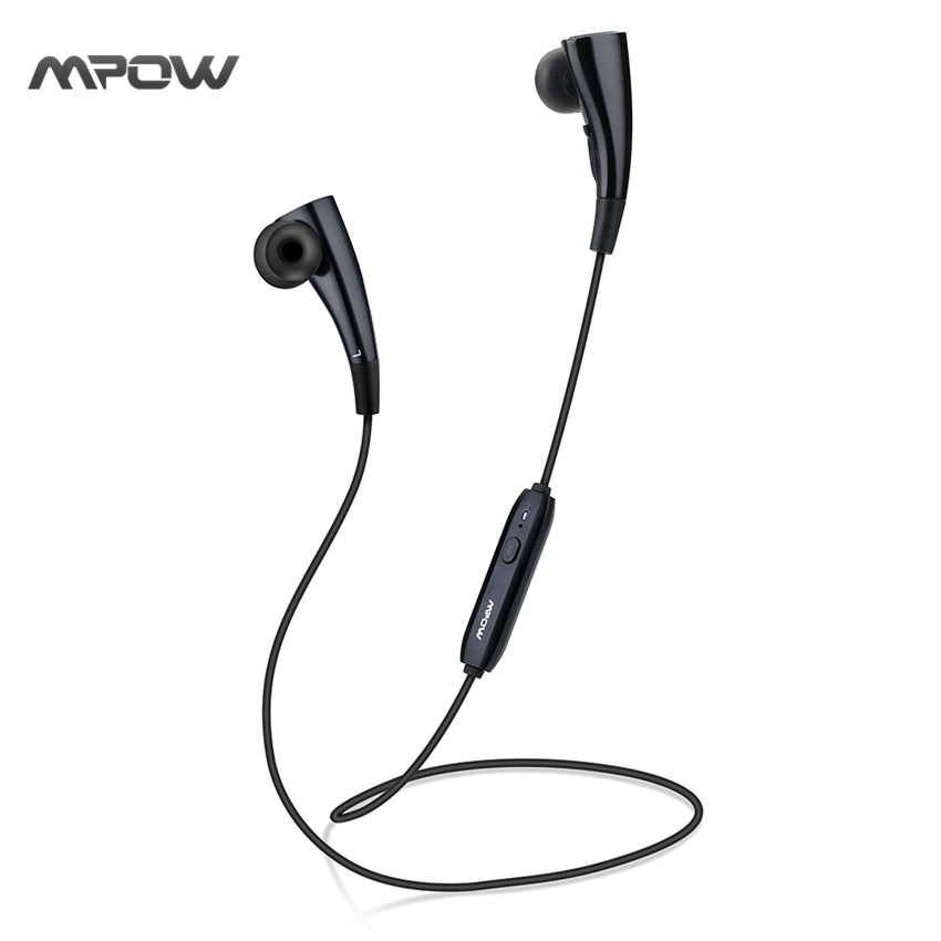 MBH31 Mpow Bullfight Earphone Necklace Wearable Magnetic Handsfree Wireless Bluetooth Headphones for iPhone Android Xiaomi etc(China (Mainland))