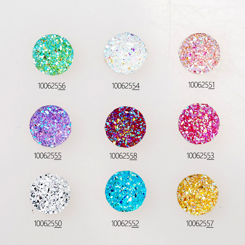 100pcs 12mm Round Resin Cabochons Square Embellishments Craft Supplies,resin embellishments-100625<br><br>Aliexpress