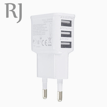 Buy 5V 2.1A 3 Ports EU Plug USB Wall AC Charger Adapter Samsung Galaxy S5 S4 S3 S2 Note 4 Apple iPhones for $2.99 in AliExpress store