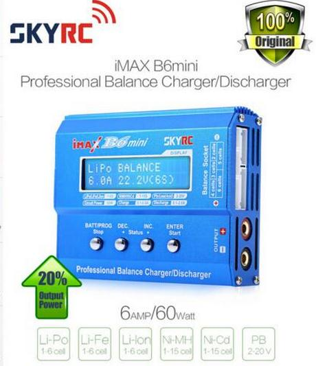 Factory Sale 100% Original SKYRC Imax B6 Mini 60W Professional Balance Charger Discharger For RC Helicopter Battery Charging(China (Mainland))