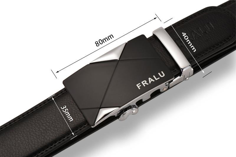 HTB1ys eQFXXXXc1apXXq6xXFXXXl - 2017 men's fashion100% Genuine Leather belts for men High quality metal automatic buckle Strap male Jeans cowboy free shipping