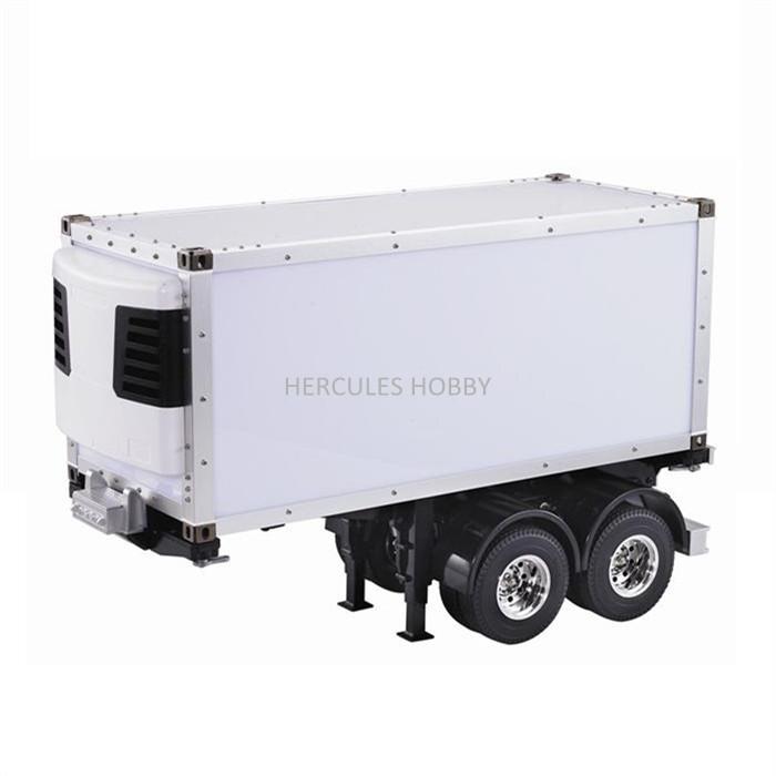 [HERCULES HOBBY] TAMIYA 1 14 Scale RC Model Tractor Trucks Trailer 20 Foot Reefer Made China - HERCULES HOBBY store