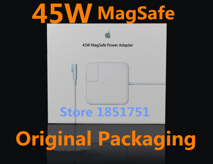 Genuine Original Packaging With 45W Magsafe Laptop AC power Adapter/Charger A1374 A1274 A1244 A1369 A1370 For Apple Macbook Air.(China (Mainland))