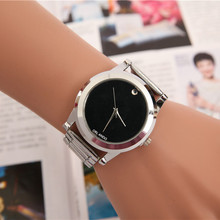 Mujeres del reloj del cuarzo de pulsera correa de acero inoxidable relojes modas 2015 mujeres de moda de marca reloj del Relogio Feminino