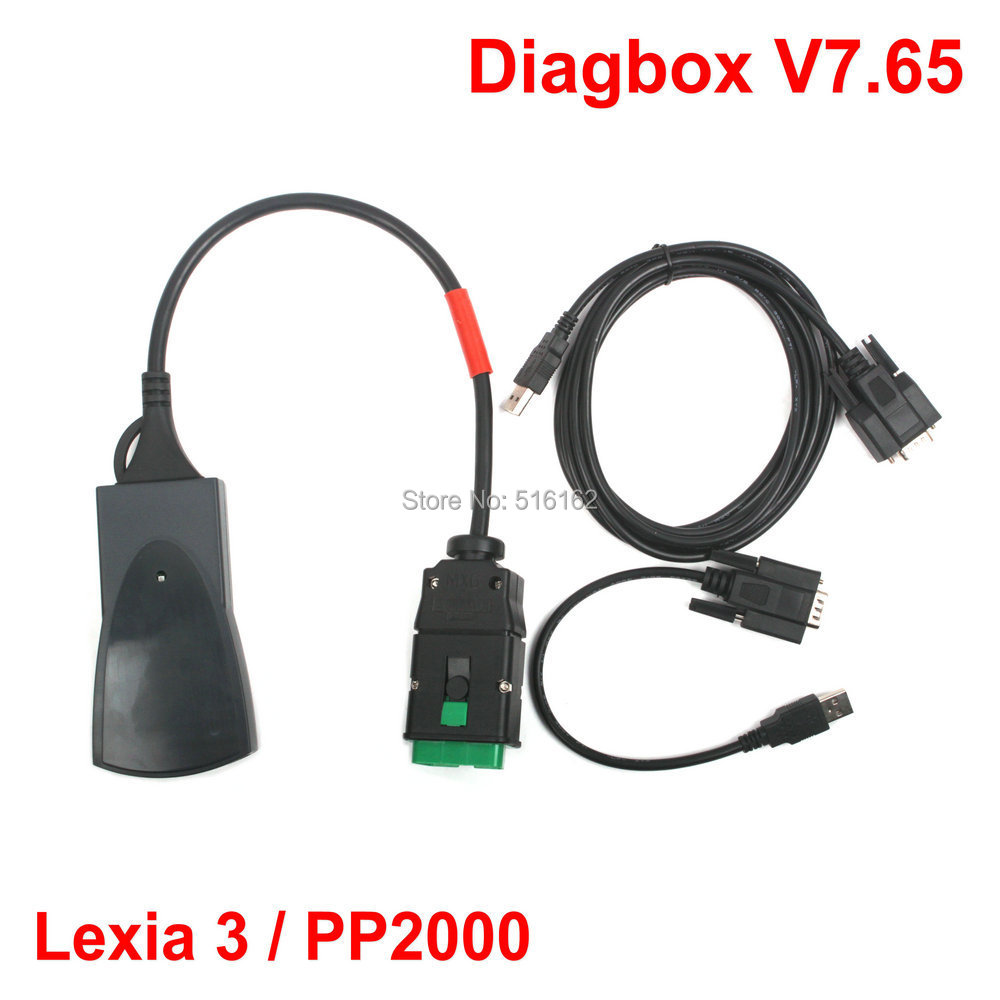 2015 Hot Sale Newest V7.65 Lexia3 Lexia 3 V48 Citroen Peugeot diagnostic tool Lexia-3 PP2000 V25 With New Diagbox Arrival(China (Mainland))