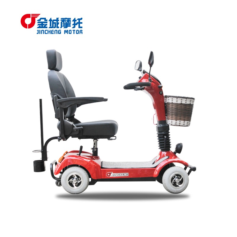 Four wheel electric vehicles elderly scooter electric for Motorized carts for seniors