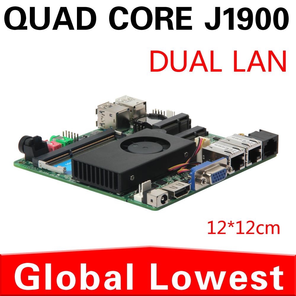 2014 New J1900 mini motherboard J1900 mainboard industrial mini itx with 1*HDMI,5*USB for 2 lan port(China (Mainland))
