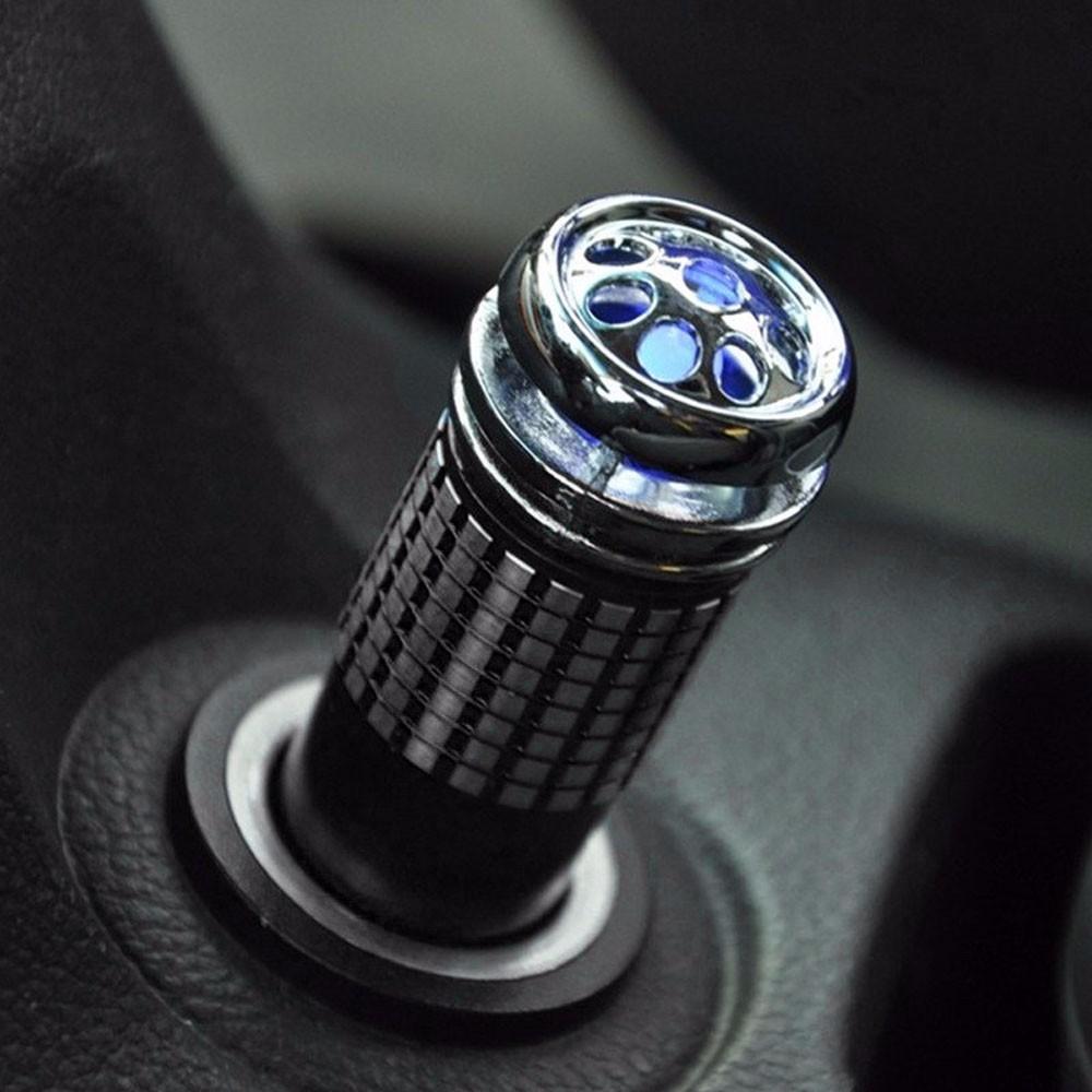 Tiptop New BLACK Mini Car Auto Fresh Air Purifier Oxygen Bar Ionizer Air Freshner Free Shipping L609