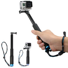 36 inch For SP POV Pole Extendable Self Selfie Stick Handheld Monopod Dive Since for Gopro Hero 4 3+ 3 2 sj4000 Sport Camera(China (Mainland))