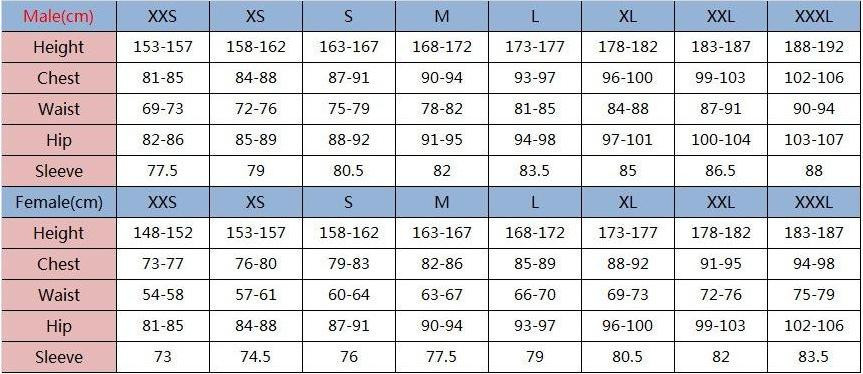 Womens Clothing Size Chart By Height And Weight T Shirt Designs