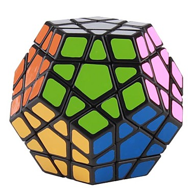 MF8 Dodecahedron Megaminx Tile Puzzle Cube (Black)(China (Mainland))