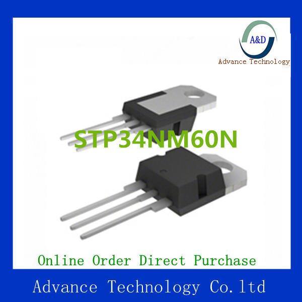 Цены на STP34NM60N