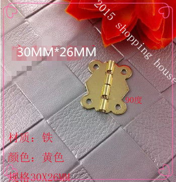 Antique small butterfly hinge cabinet hardware accessories lace hinge for box jewelry box hinges 02(China (Mainland))