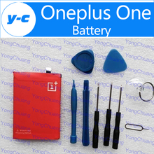 100% Original BLP571 3100mAH Built-in Battery Replacement For oneplus one 1+ 64GB 16GB Smart Cell Phone  In Stock Free Shipping