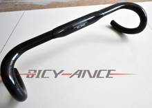Buy Newest OEM-B Road bicycle 3K full carbon fibre handlebar carbon bike handlebar road bike parts 31.8*400/420/440mm Free for $30.55 in AliExpress store