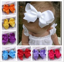 12Colors New Fashion Hot children Infant Baby Toddler girls bowknot Headpins Headwear Hairgrips Head Piece Accessories