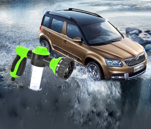 Foam Water Gun car Washiing High pressure washer gun Car Washer gun watering gardens car protable clean tools(China (Mainland))