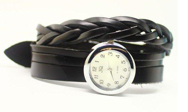Christmas gift 2012 New style.Wholesale Cow Leather hot sale bracelet watch,Korea Fashion Wrist Watch KOW003(China (Mainland))