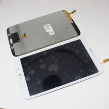 Full LCD Display Panel + Touch Screen Digitizer Glass Assembly Replacement for White Samsung Galaxy Tab 3 8.0 SM-T311 T315(China (Mainland))